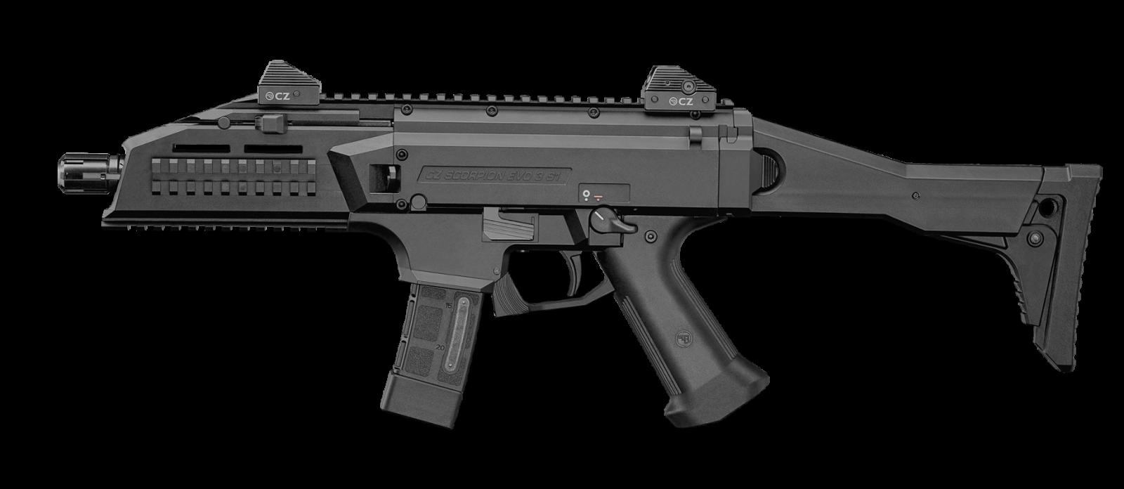 Carabine CZ Scorpion Evo3 S1 Cal. 9x19