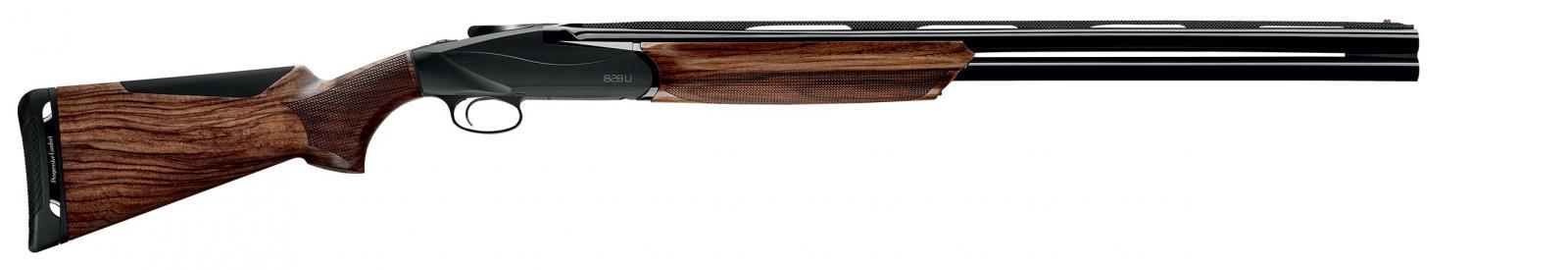 Fusil superposé BENELLI 828U BLACK Cal. 12/76