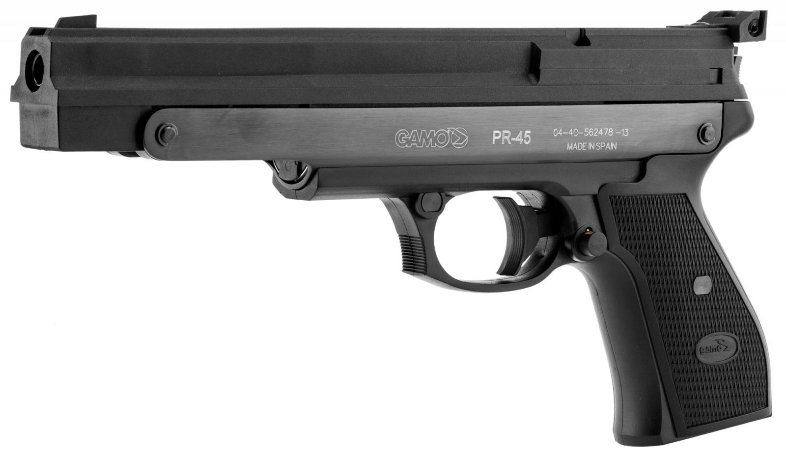Pistolet d'entrainement GAMO PR-45 Ambidextre 4.5 mm - 3.67 J