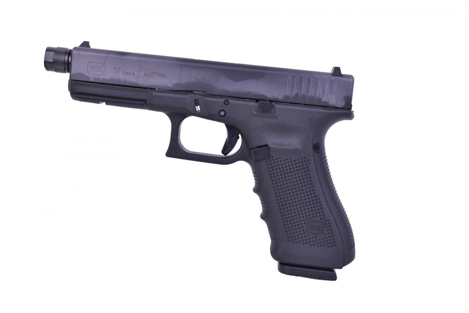 Pistolet GLOCK 17 GEN 4 Fileté Cal. 9x19 mm