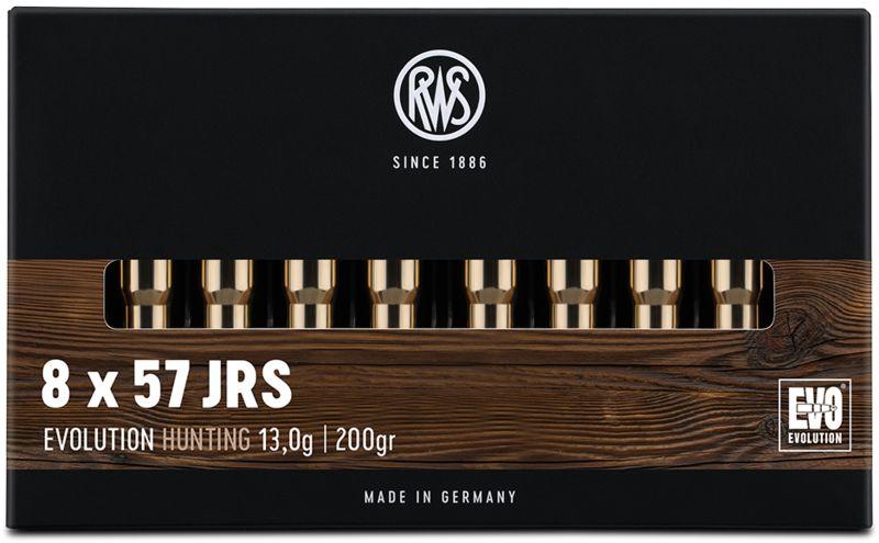 Boîte de 20 cartouches RWS 8x57 JRS 200 gr Evolution