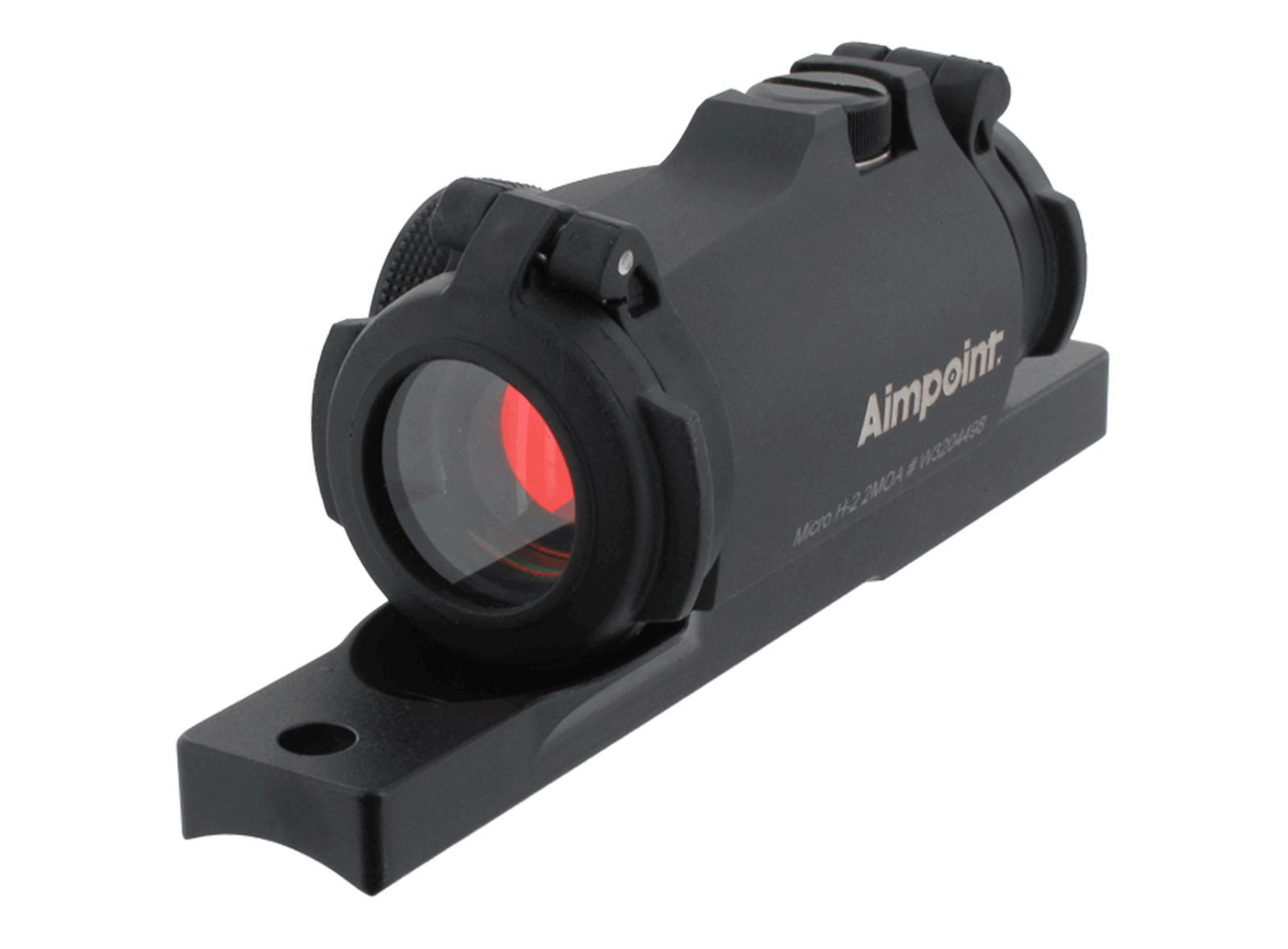 Viseur point rouge AIMPOINT MICRO H2 + embase extra bas fusil semi auto
