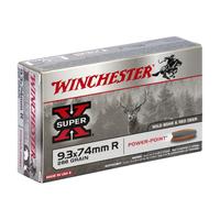 Boîte de 20 cartouches WINCHESTER SUPER X 9.3x74R 286 grs POWER POINT