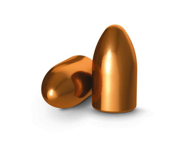 Ogives 9 mm (.355) H&N 125 grs cuivrées TMJ RN