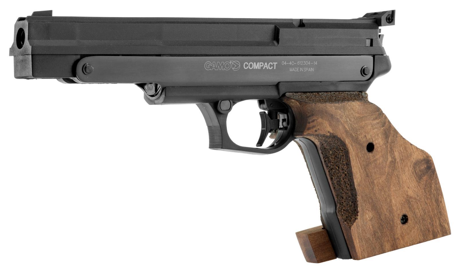 Pistolet à air comprimé de compétition GAMO Compact 4.5 mm - 3.67 J