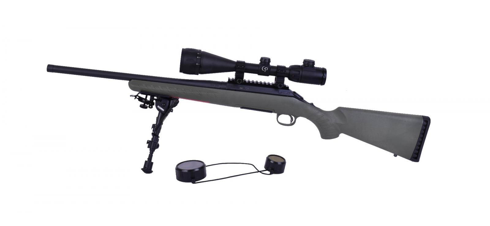 Pack Carabine Ruger American Rifle Predator Fileté + Bipied + Lunette CP6x20x50