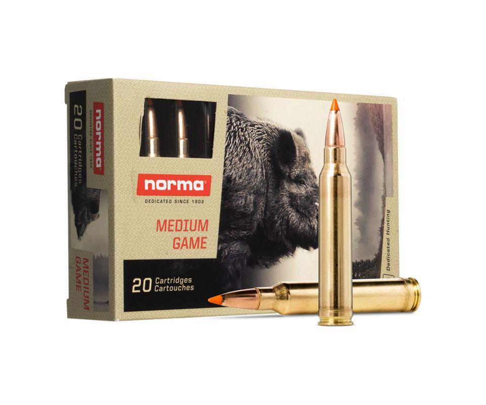 Boîte de 20 cartouches NORMA 300 Win Mag 170 gr - 11 g TIP STRIKE