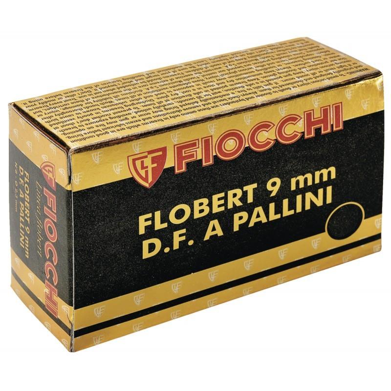 Boite de 50 cartouches 9 mm Flobert Plomb° 7.5  CA475