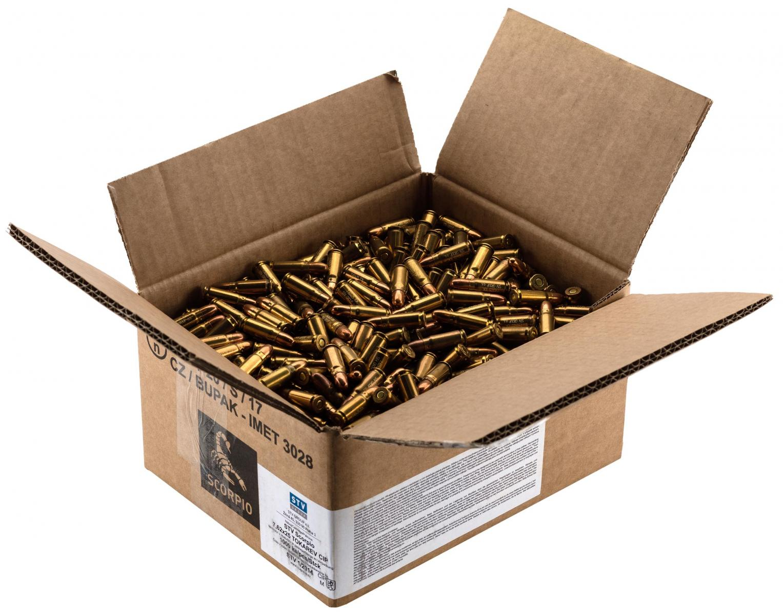 Munitions de surplus STV Cal. 7.62x25 Tokarev x 1000