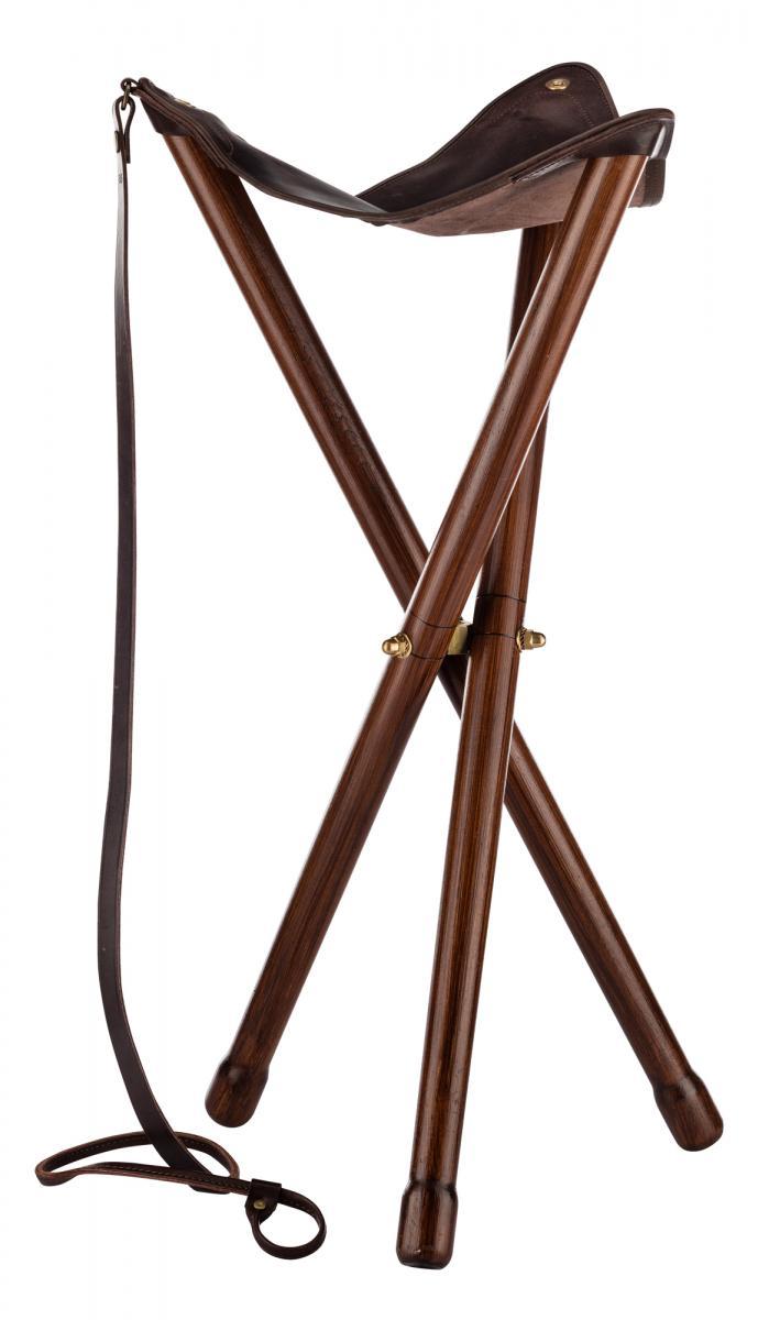 Trépied COUNTRY Sellerie en cuir taille M - 75 cm