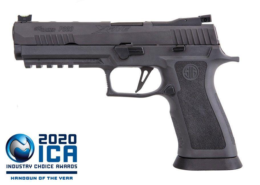 Pistolet SIG SAUER P320 X-Five Legion Cal 9mm