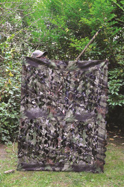 Poste affut hutte du guet HT 1.55 Camo 4 pieds