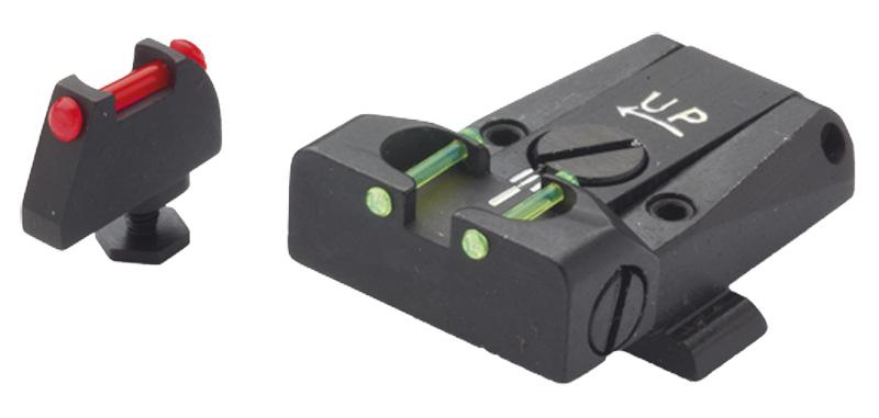 Hausse et guidon fibre optique LPA pour GLOCK 17 à 34