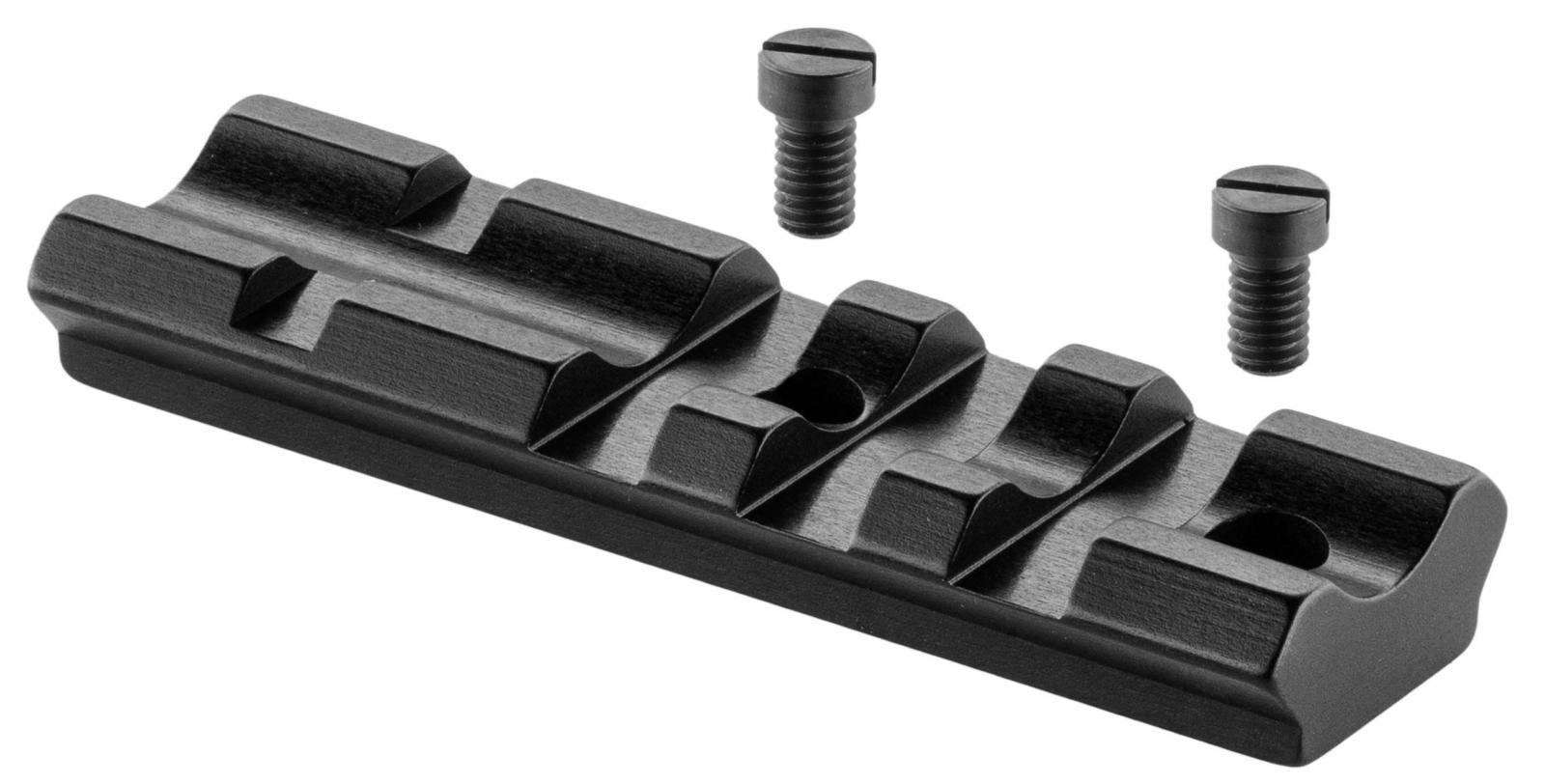 Embase courte type Weaver 21 mm RECKNAGEL pour fusil FAIR