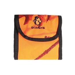 Pochette camo orange pour balles de chasse SOMLYS