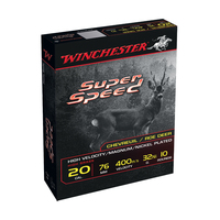Boîte de 10 cartouches WINCHESTER Super Speed Cal. 20/76 - 32g
