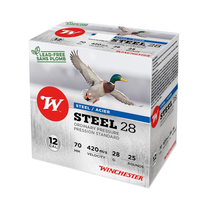 Boîte de 25 cartouches WINCHESTER Steel 28 cal 12/70 P5