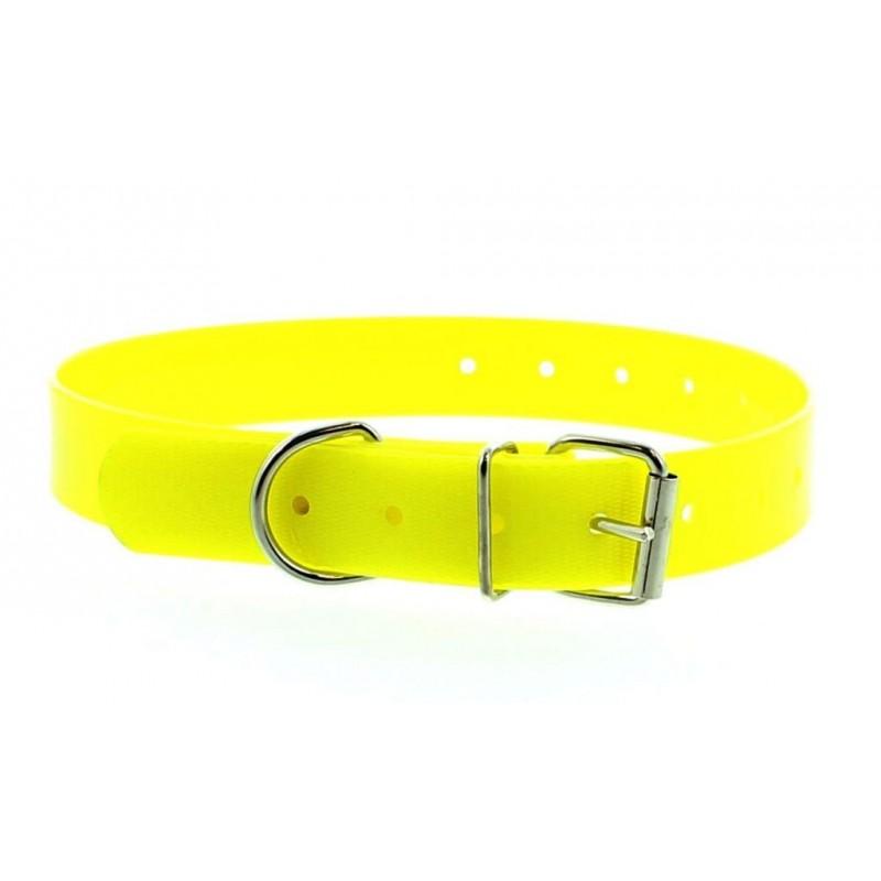 Collier luo jaune 40 cm petit chien