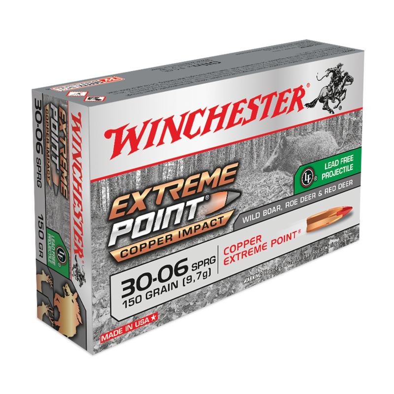 Boite de 20 cartouches WINCHESTER 30-06 SPRG 150 grs Extreme Point