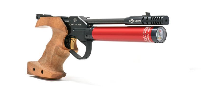 Pistolet air comprimé MORINI CM 162EI Junior - Droitier cal. 4.5 mm