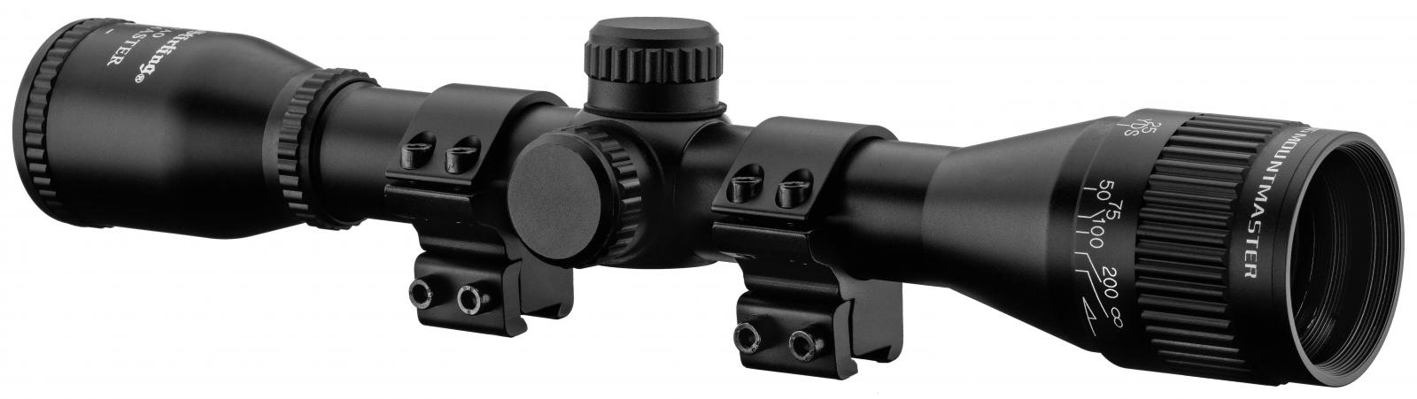 Lunette Nikko stirling 4x32 MountMaster + colliers
