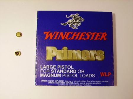 amorces WINCHESTER large pistol le 100 WLP