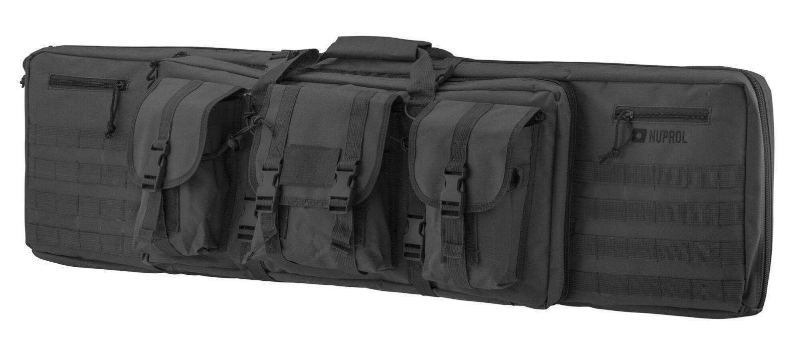 Housse souple 2 armes NUPROL à compartiments 117 cm - Noir