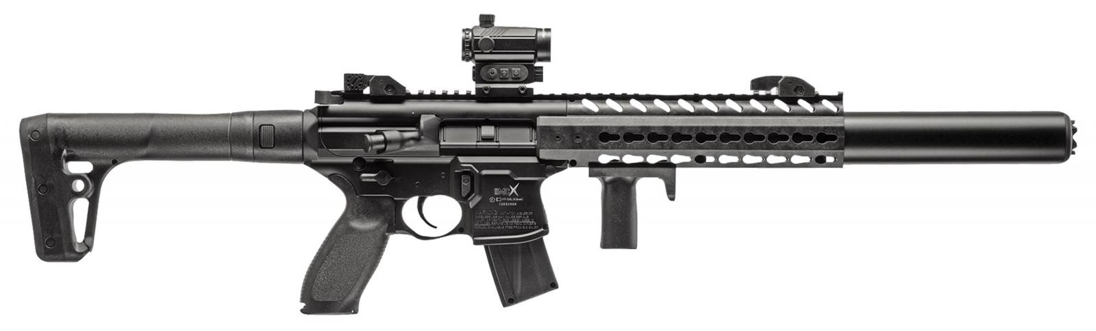 Carabine à plomb SIG SAUER MCX CO2 4.5 mm + micro Red Dot