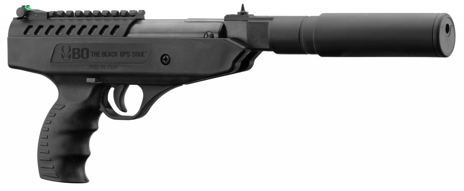 Pistolet à air comprimé BO Langley Silencer cal. 4.5 mm <10 J