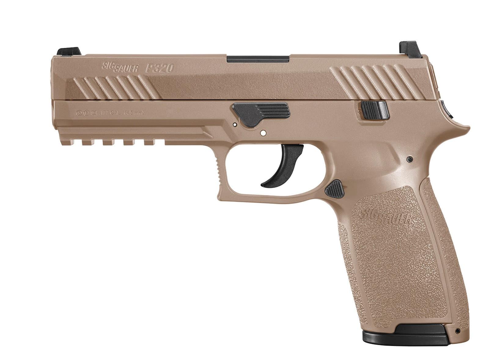 Pistolet à plomb SIG SAUER P320 CO2 4.5 mm TAN