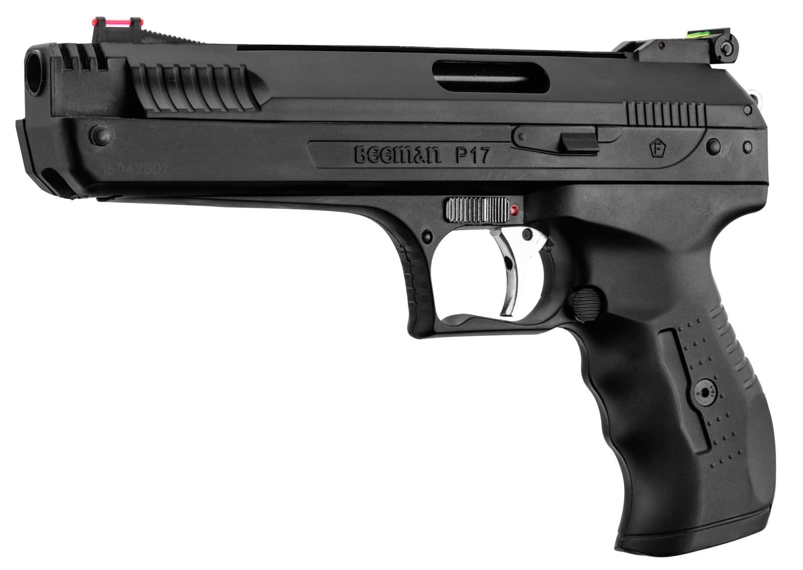 Pistolet à air comprimé BEEMAN P17 cal. 4.5 mm - 3.7 J