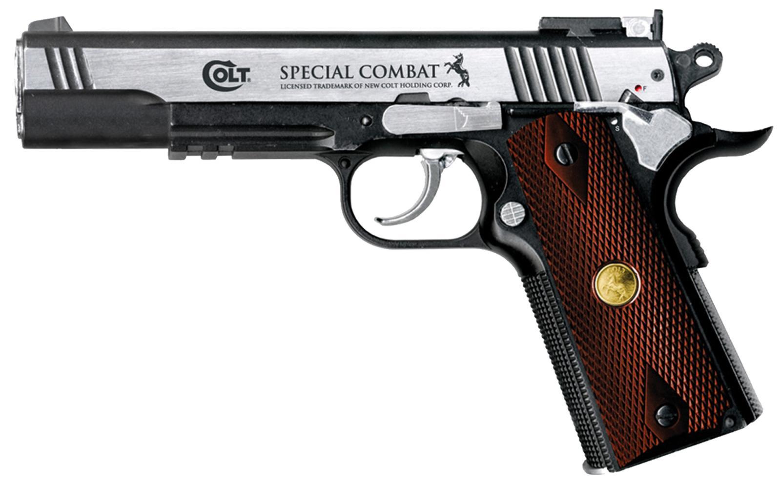 Pistolet C02 COLT Special Combat classic cal 4.5 mm