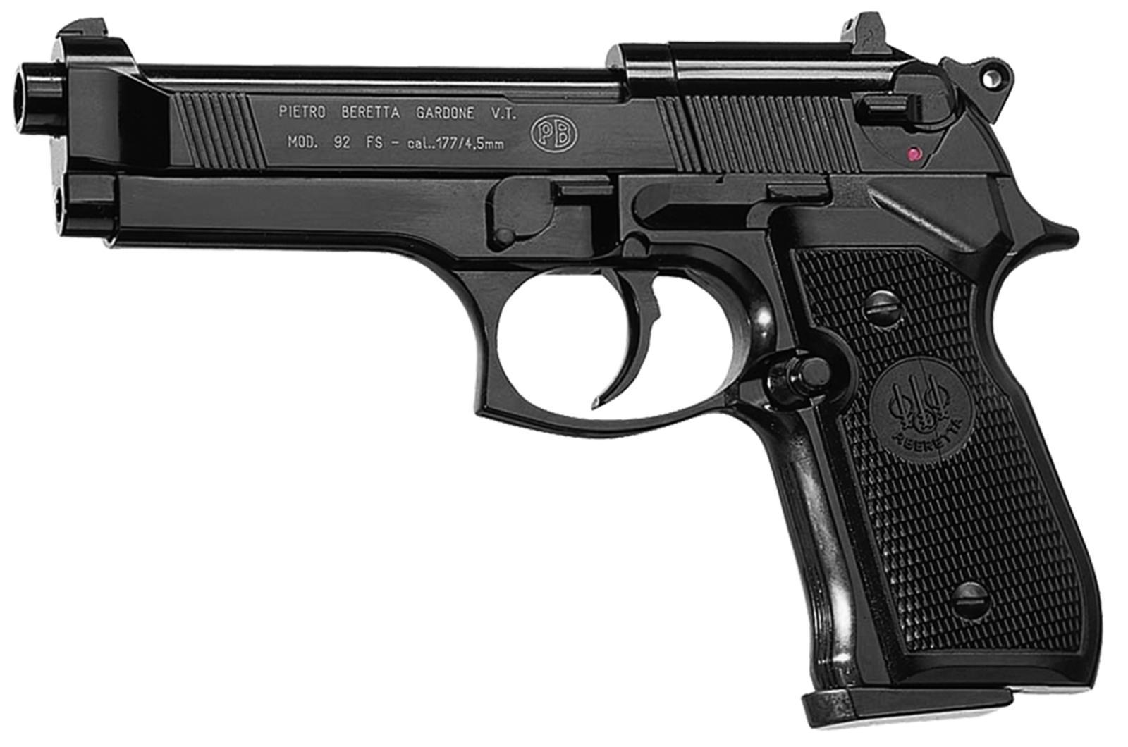 Pistolet CO2 BERETTA M92FS Full Metal Cal. 4.5 mm