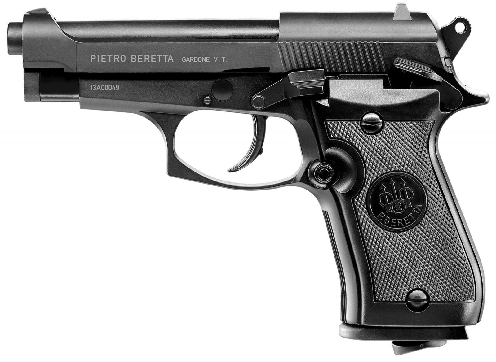 Pistolet CO2 BERETTA M84 Cheetah Full Metal Cal. 4.5 mm