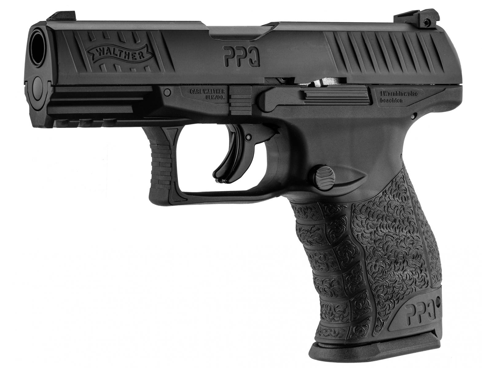 Pistolet CO2 WALTHER PPQ M2 T4E Cal. 43 - 5 joules