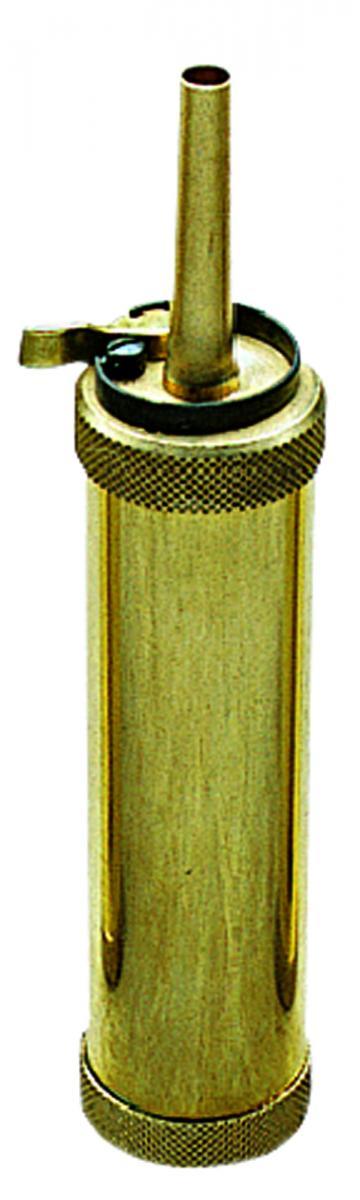 Poire à poudre noire tubulaire PEDERSOLI cal. 44