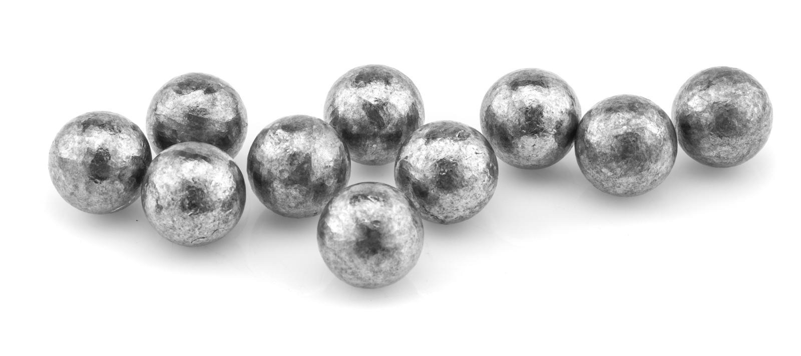 Boite de 100 balles rondes PEDERSOLI cal. 454 USA520454