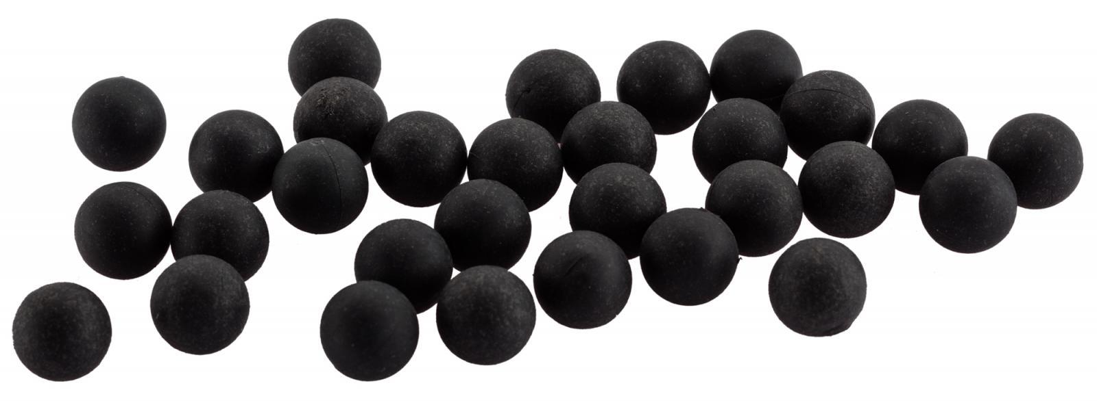 Billes de défense caoutchouc métal RUBBER BALLS cal. 50
