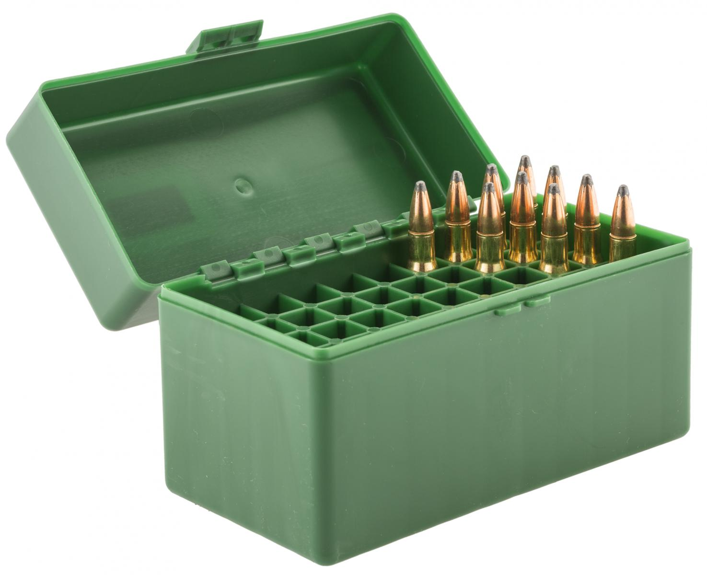 Boîte de rangement 50 munitions cal. 30-06 Spg