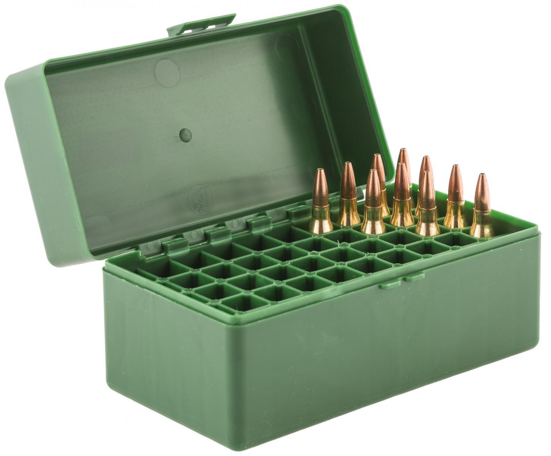 Boîte de rangement 50 munitions cal. 243 WIn