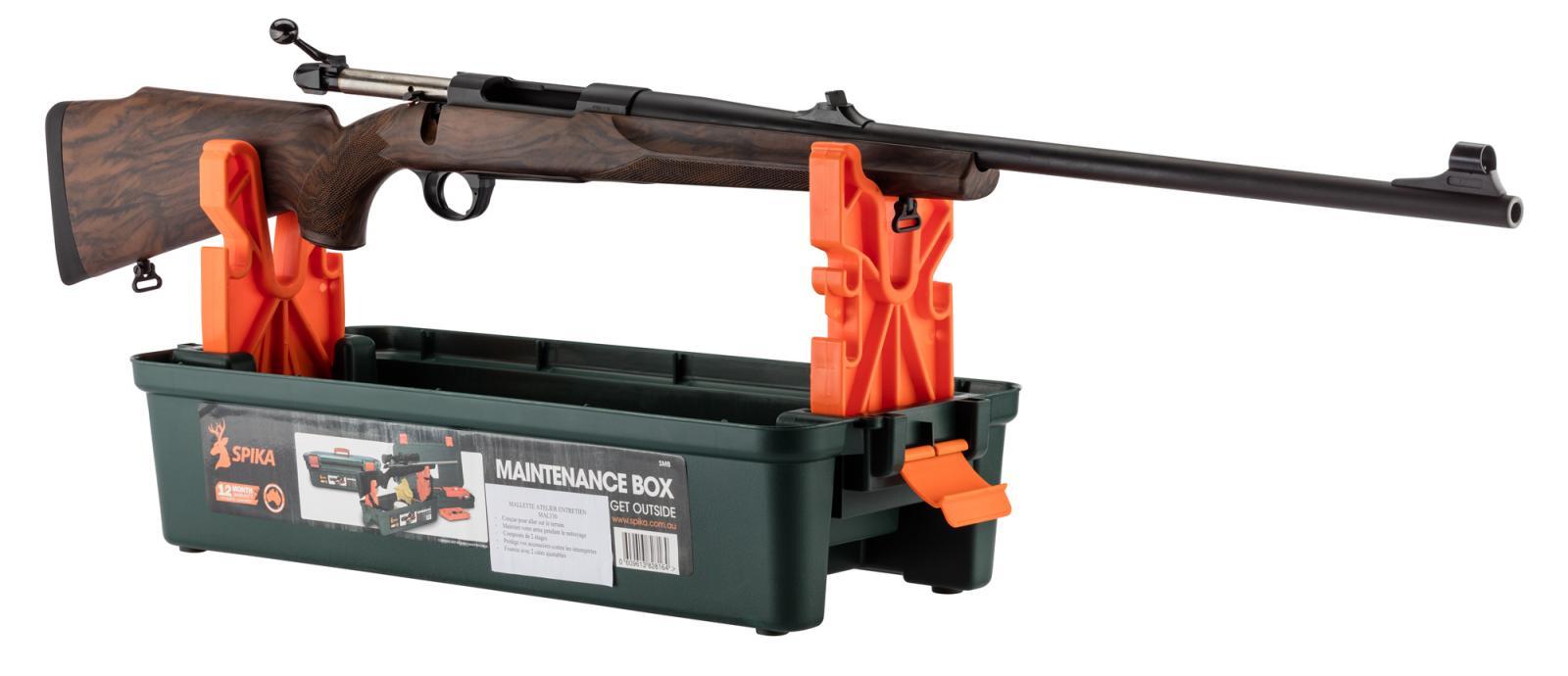 Malette d'atelier SPIKA entretien et chevalet pour arme d'épaule