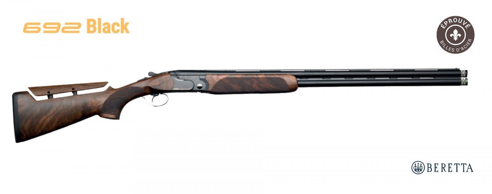Fusil superposé BERETTA 692 Black Édition SPORTING B-FAST Canon 76