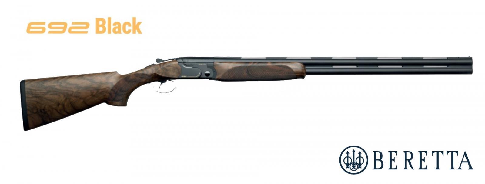 Fusil superposé BERETTA 692 TRAP Black Édition Canon 76