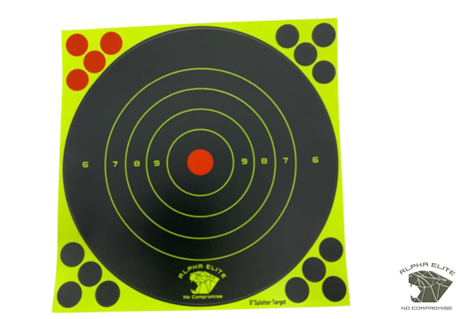 Cible Targets 8'' Splatter ALPHA ELITE