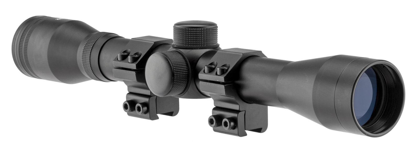 Lunette de tir RTI 4x32 avec colliers