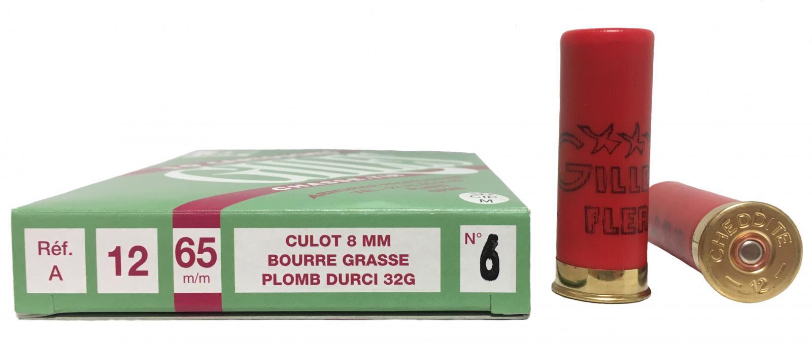 Boite de 10 cartouches 12 / 65 Petit culot 32 grs A1