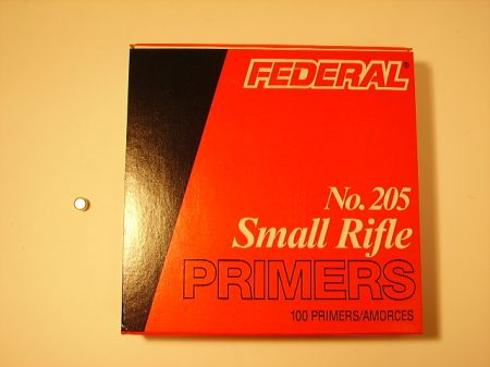 amorces FEDERAL small rifle le 100  FED205