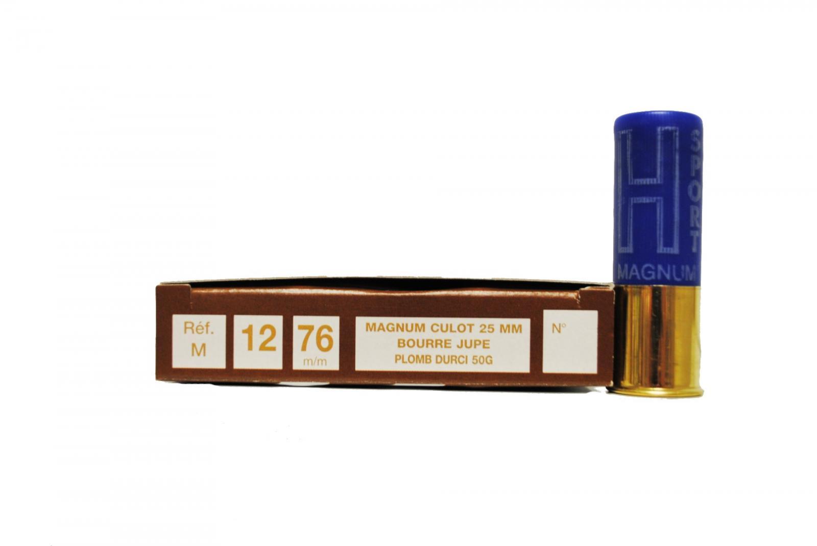 Boite de 10 cartouches 12 / 76 MAGNUM 50 grs M1