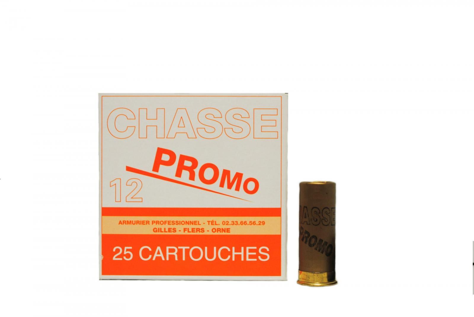 """Boite de 25 cartouches 12 / 67  """"chasse promo"""" 32 grs R1"""