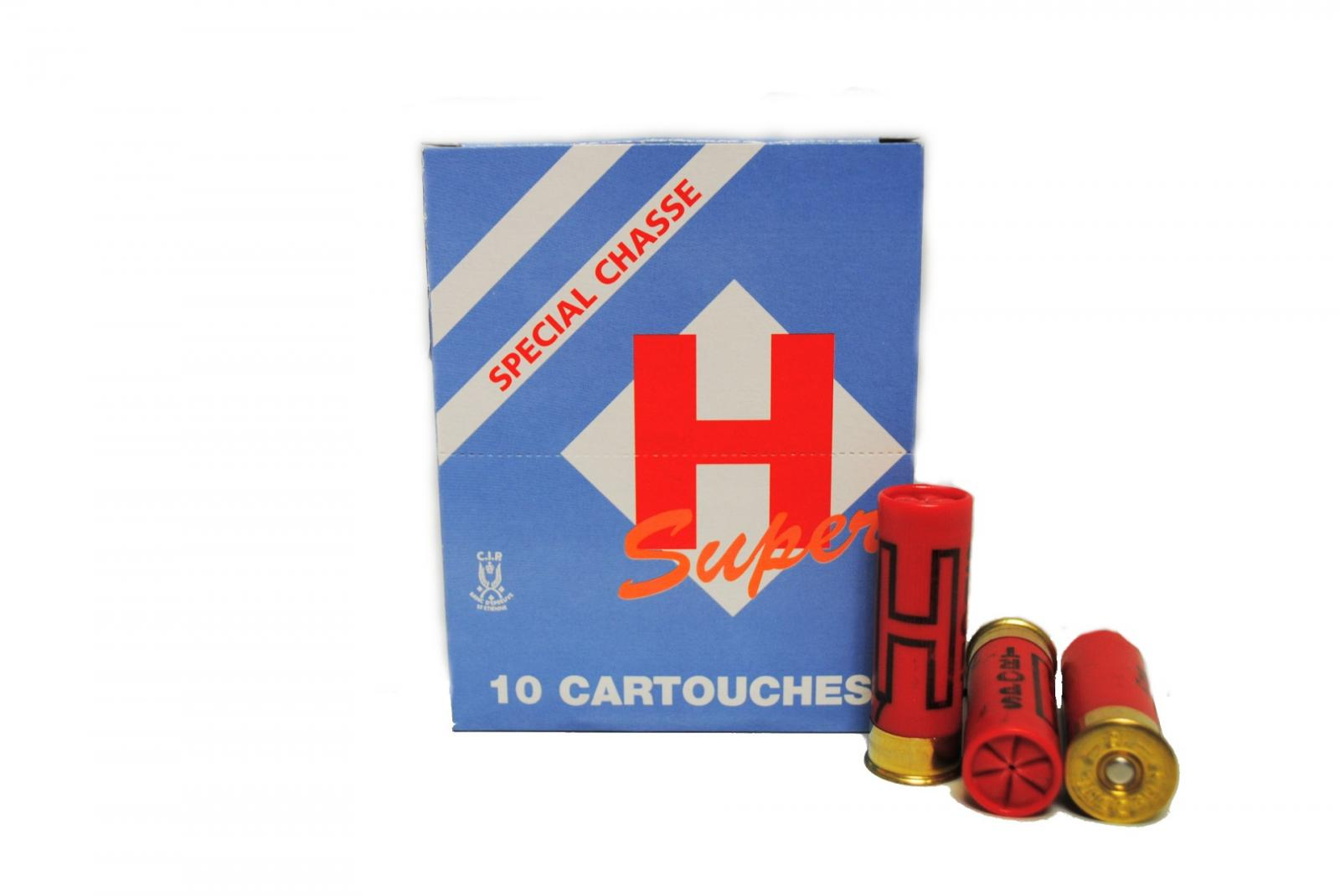 Boite de 10 cartouches 16 / 67.5 petit culot 30 grs SUPER J2